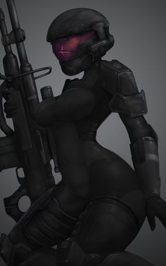 Character Design Teen, Character Art, Fantasy Characters, Female Characters, Halo Armor, Halo Spartan, Halo Game, Cyberpunk Girl, Female Armor