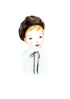 poppopportrait #illustration