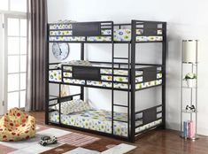 3 Tier Bunk Beds, Queen Bunk Beds, Futon Bunk Bed, Full Bunk Beds, Triple Bed, Triple Bunk Beds, Best Platform Beds, Night And Day Furniture