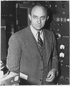 Enrico Fermi (1901 - 1954): developed first nuclear reactor (Chicago Pile-1), contributed to quantum theory, nuclear and particle physics, and statistical mechanics, awarded the 1938 Nobel Prize in Physics for his work on induced radioactivity.