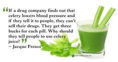 Celery for blood pressure