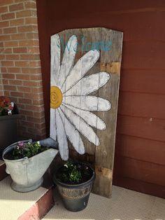 repurposed fence board