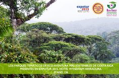Rainforest Adventures en Expotur2015! Acércate a los parques temáticos de eco-aventura más sostenibles de Costa Rica! #rainforestadventurescr #visitcostarica #expotur2015 #puravida
