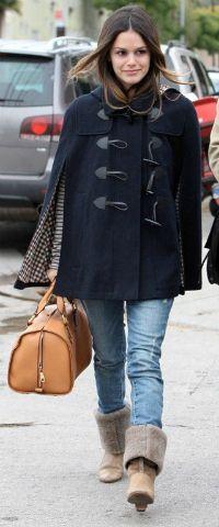 Rachel Bilson White Trench Coat, Cape Coat, Fashion Tv, Star Fashion, Street 712a224918