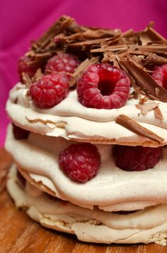 ... with Raspberries, Chocolate and Lemon Curd by ginger, lemon & spice