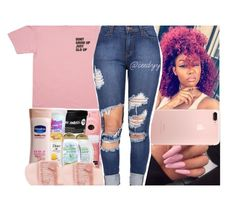 """Feelin' Pink🐽."" by ceedyy ❤ liked on Polyvore featuring Puma"