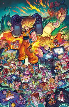 Pin by Dbz_Dokkan End on Dragon ball Dragon Ball Gt, Graffiti Wallpaper, Cartoon Wallpaper, Image Dbz, Geek Art, Animes Wallpapers, Gaming Wallpapers, Cover Art, Character Art