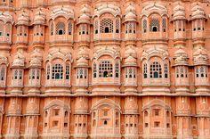 Pink Palace Of the Winds - Hawa Mahal (Jaipur/ India)