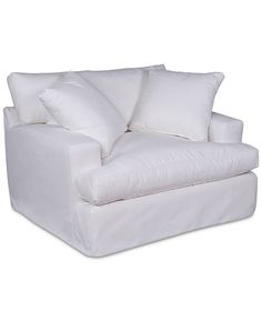 Brenalee Performance Slipcover Replacement - Chair and - Pearl