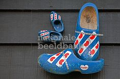 klompen aan de muur Delft, Holland, Slippers, Pairs, Photography, Shoes, Products, Fashion, The Nederlands