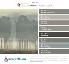 I Found These Colors With Colorsnap Visualizer For Iphone By Sherwin Williams Spatial White