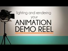 Simple Lighting Tutorial for Animation