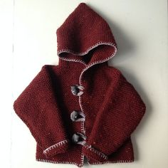 Knitting Patterns for Baby Lion brand Ravelry: Project Gallery for Storybook Baby Hoodie pattern by Lio...