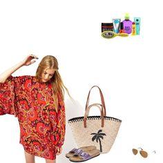 Beach Straw Bag, Beach, Style, Fashion, Moda, The Beach, La Mode, Fasion, Fashion Models
