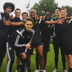 """Fresh from joining Borussia Dortmund on loan until the end of the season, Januzaj has met up with the Belgium national team for their impending Euro 2016 qualifiers against Bosnia and Cyprus. He's posted the below photo of his team-mates (including Marouane Fellaini) on Instagram, with the caption: """"Winners of the day ;) enjoying training with Belgium."""""""