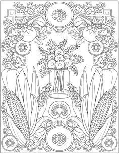 Welcome to Dover Publications-Creative Haven Farmer's Market Designs
