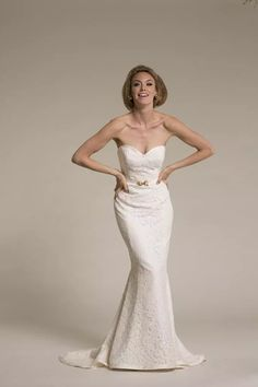 Amy Kuschel Cassidy Wedding Gown- available at Something White