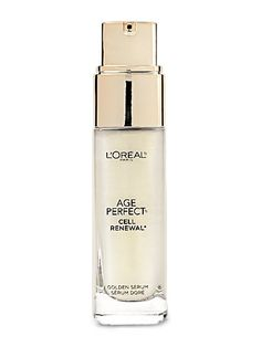 """L'Oréal Paris Age Perfect Cell Renewal Golden Serum, $25 The superfine shimmer in this serum makes skin radiant, not glittery. Plus: """"It smooths fine lines and wrinkles with antioxidants and zinc,"""" says Day."""