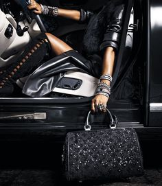 Boots - Brian Atwood, Bag - Louis Vuitton