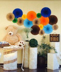 Abanicos decorativos fiesta