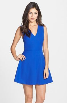 FELICITY & COCO Back Cutout Fit & Flare Dress (Regular & Petite) (Nordstrom Exclusive) available at #Nordstrom