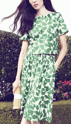 Loving this Kate Spade spring ensemble.