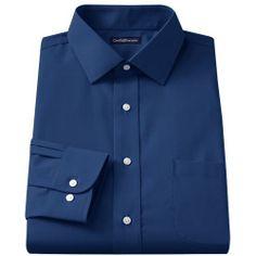 """2731154%3Fwid%3D800%26hei%3D800%26op_sharpen%3D1 Best Deal """"Men's Croft & Barrow ClassicFit Striped EasyCare ButtonDown Collar Dress Shirt"""
