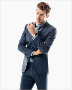 Men's business style | Andrew Cooper for Massimo Dutti Spring 2015