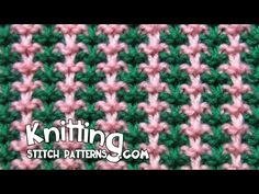 Free video tutorial on How to knit the Triple L Tweed stitch. This is a three color pattern. You can choose whichever colors you'd like. Follow along and see...