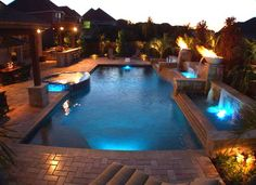 Led Swimming Pool Lighting Design