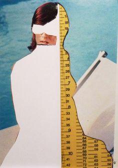 20 cm | -Mailart Art Collage
