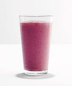 Raspberry Chia Smoothie from realsimple.com #myplate #protein #fruit