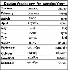 54 Best Learning Russian images | Learn russian, Russian language ...
