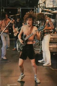 AC/DC guitar great Angus Young: