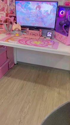 Room Ideas Bedroom, Room Decor, Sailor Moon Girls, Cool Fidget Toys, Otaku Room, Gaming Room Setup, Kawaii Room, Game Room Design, Mini Canvas Art