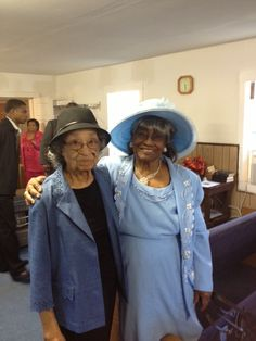 Allen Chapel A.M.E. Church - Forney, Texas: Ladies in hats