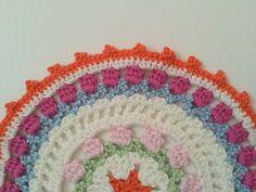 Monique's #Crochet Mandala + Mandala Meditation