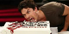 He makes cake look yummy. Ohh that Ian