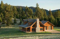 """the quintessential log cabin home"" Custom Design Log Lodge"