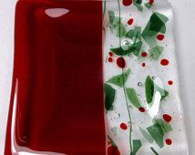 how to make fused glass plates - Google Search