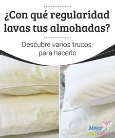 ¿Con qué regularidad lavas tus almohadas? Descubre varios trucos para hacerlo… English Tips, Clean Freak, Life Organization, Home Hacks, Keep It Cleaner, Clean House, Housekeeping, Good To Know, Biodegradable Products