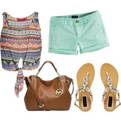 """""""Summer Outfit"""" by nikitasachdev on Polyvore"""