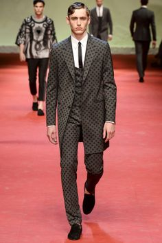 Défilé homme printemps-été 2015 Dolce & Gabbana #mode #fashion #couture