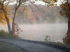 Lake mist - Springfield, MO
