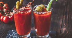 When you begin to think about classic cocktails, the Bloody Mary is one that often creeps up. So, it only made sense we came up with three delicious recipes so that you really can make the perfect Bloody Mary. Best Bloody Mary Recipe, Bloody Mary Recipes, Vodka Martini, Gin Fizz, The Great Gatsby, Pina Colada, Bellini, Mojito Ingredients, Le Gin