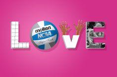 Volleyball, Volleyball, Volleyball! #Molten