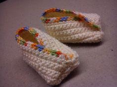 Newborn baby schoentjes
