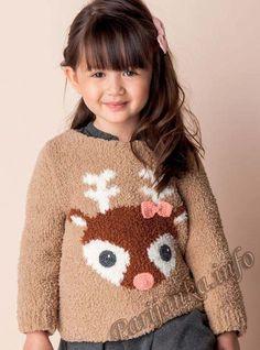 Пуловер (д) 08*124 Phildar №4916