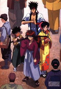 Life lessons I picked up from Rurouni Kenshin - Anime Kenshin Y Kaoru, Kenshin Anime, Manga Anime, Anime Art, Manga Girl, Anime Girls, Kenshin Le Vagabond, Era Meiji, Samurai