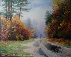 """Here Comes The Fall"" - oil, canvas http://www.russianfineart.co/catalog/prod.php?productid=21155 Artist: Yanulevich Gennady"